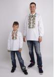 Комплект вишиванок для батька та сина «Дубок»