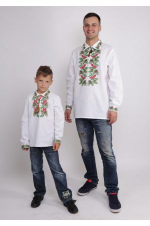 Комплект вышиванок для папы и сына «Дубок»