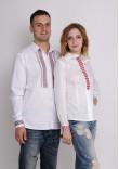 Комплект вишиванок для жінки та чоловіка «Зорі»