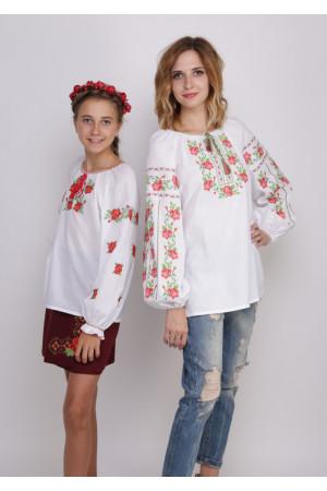Комплект вышиванок для мамы и дочки «Киевляночка»