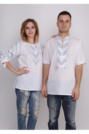Комплект вишиванок для жінки та чоловіка «Зоряне сяйво»