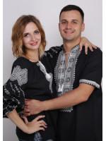 Комплект вишиванок для жінки та чоловіка «Ніжність»
