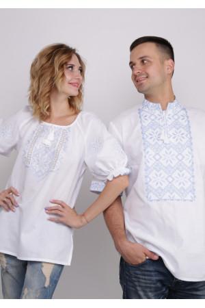 Комплект вишиванок для жінки та чоловіка «Слобожанський»