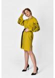 Сукня «Рута» кольору охри