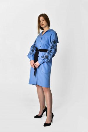 Платье «Рута» голубого цвета