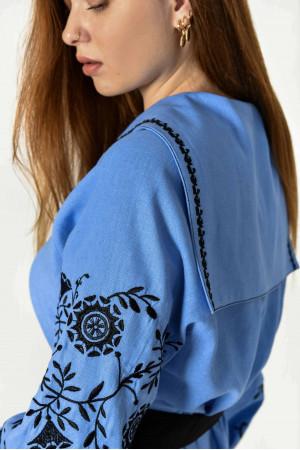 Сукня «Рута» блакитного кольору