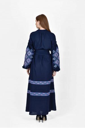 Сукня «Сузір'я» темно-синього кольору