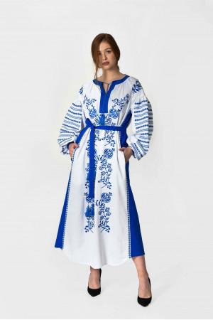 Сукня «Козачка» білого кольору