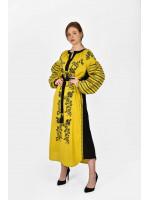Сукня «Козачка» кольору охри
