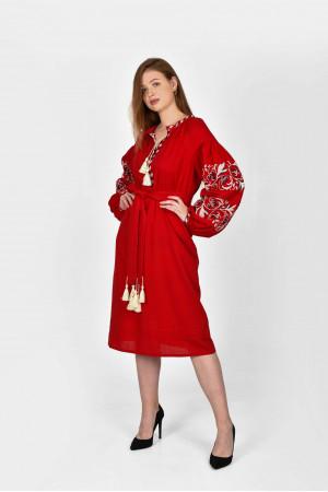 Сукня «Владарка» червоного кольору