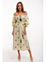 Сукня «Барвінок» жовтого кольору