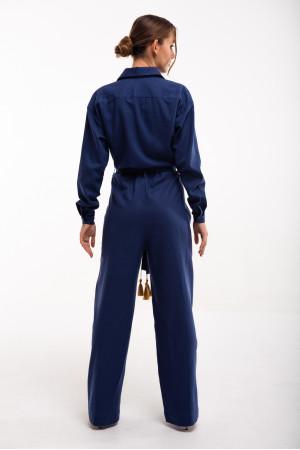 Сукня «Суцвіття» синього кольору