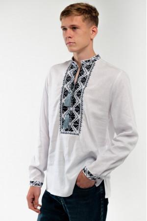 Вишиванка чоловіча «Самійло» білого кольору