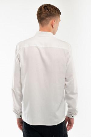 Вишиванка чоловіча «Знахідка» білого кольору