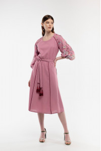 Платье «Ясочка» розового цвета