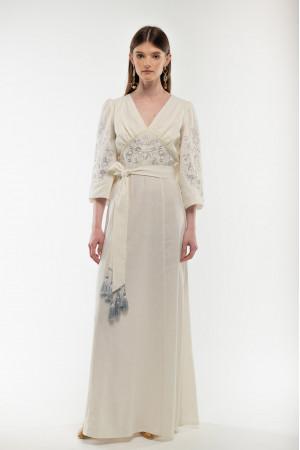 Платье «Голубка» белого цвета