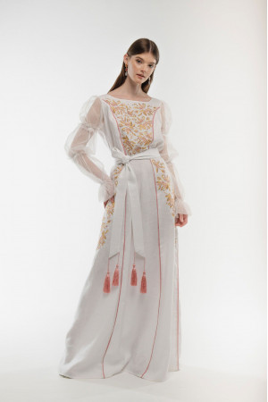 Сукня «Лелійка» білого кольору