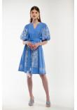 Платье «Мылося» голубого цвета