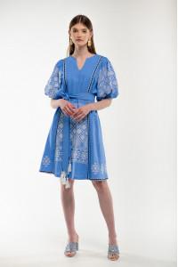 Сукня «Милося» блакитного кольору