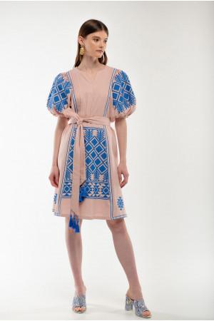 Сукня «Милося» кольору пудри