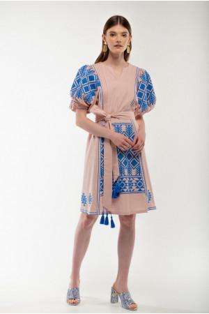 Платье «Мылося» цвета пудры