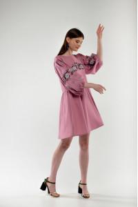 Сукня «Зозулька» рожевого кольору