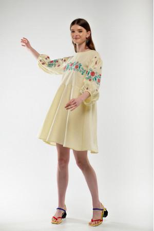 Сукня «Зозулька» жовтого кольору
