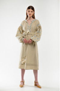 Сукня «Спадок» бежевого кольору