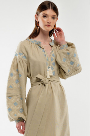 Платье «Спадок» бежевого цвета