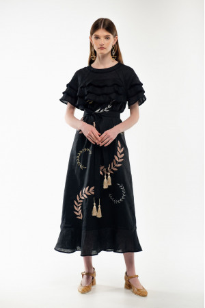 Платье «Панночка» черного цвета
