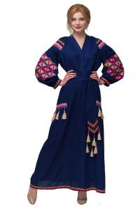 Сукня «Барвограй» синього кольору