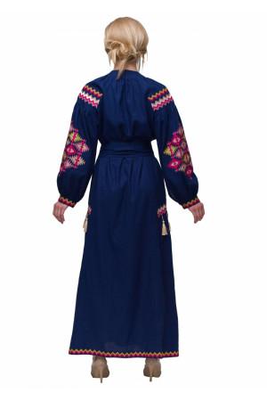 Платье «Барвограй» синего цвета