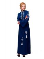 Платье «Роксолана» синего цвета