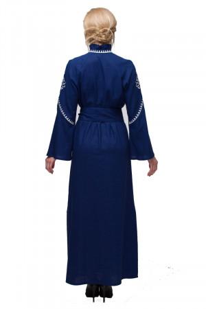 Сукня «Роксоляна» синього кольору