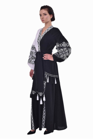Сукня «Жасмин» чорно-біла