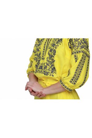 Сукня «Сокальська» жовтого кольору