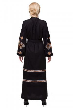 Сукня «Ромби Косач» чорного кольору
