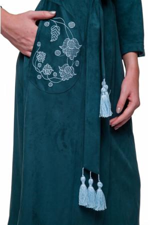 Сукня «Багрівка» кольору морської хвилі
