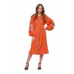 Сукня «Пробудження» помаранчевого кольору