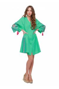 Сукня «Сяйво» зеленого кольору