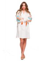 Платье «Первоцвет» молочного цвета