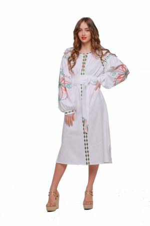 Платье «Пробуждение» белого цвета
