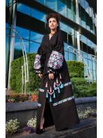 Платье «Дина» черного цвета