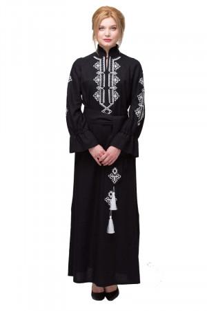 Платье «Роксолана» черного цвета