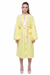 Сукня «Невісточка» жовтого кольору