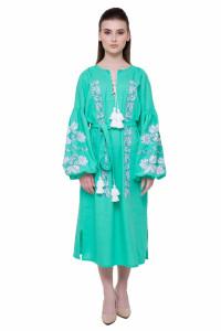 Платье «Невесточка» цвета мяты