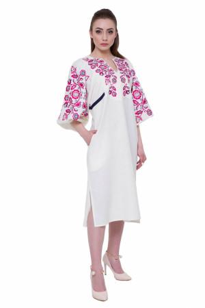 Платье «Находка» белого цвета