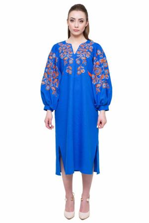 Платье «Находка» синего цвета