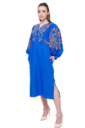Сукня «Знахідка» синього кольору