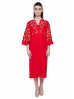 Сукня «Знахідка» червоного кольору